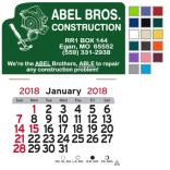 Carpentry Self-Adhesive Calendar