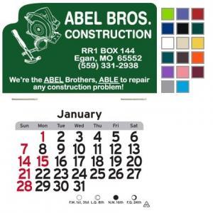 Carpentry Self-Adhesive Calendar