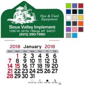 Tractor Themed Self-Adhesive Calendar