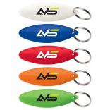 Surfboard Shaped Bottle Opener Key Tag
