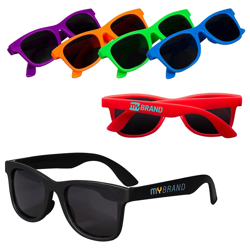Youth Single Tone Matte Sunglases