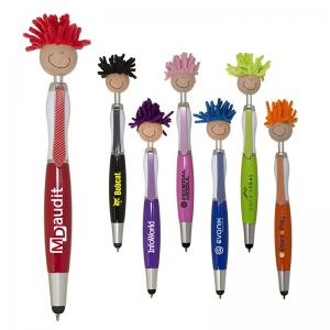 Tan Skin Mop Topper Stylus Pen