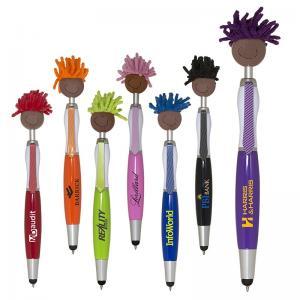 Brown Skin Mop Topper Stylus Pen