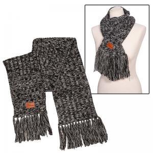 Leeman Heathered Knit Scarf