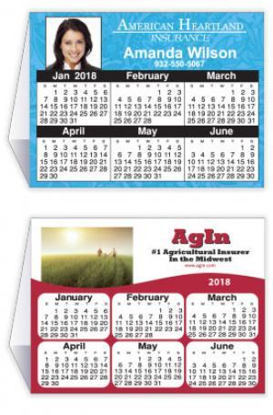 """4"""" x 9"""" Calendar Tent Card"""