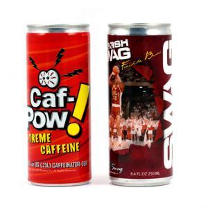 12 oz Custom Label Energy Drink