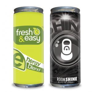 12 oz Custom Label Sugar Free Energy Drink