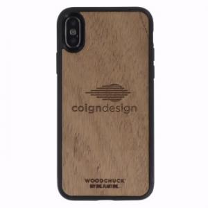 Mahogany Wood Phone Case for Iphone X