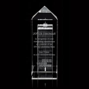 Apex Tower Optical Crystal Award
