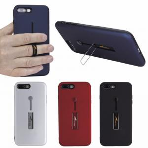 Finger Slot Phone Case with Stand - iPhone 7 Plus/8 Plus