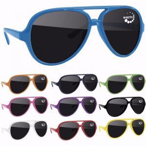 Impact Resistant Aviator Sunglasses
