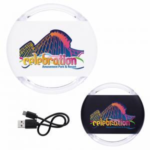 Light Up Plasitc Wireless Charging Pad