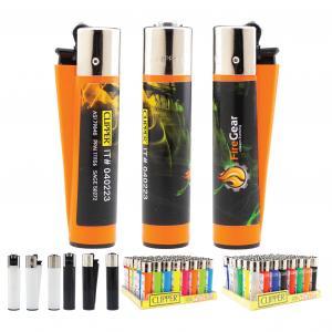 Clipper Lighter 4CP Label