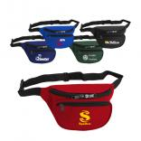 Polyester Dual Pocket Fanny Pack