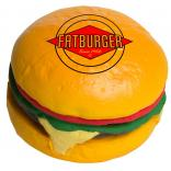 Cheeseburger Shaped Stress Reliever