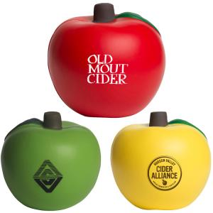 Crisp Apple Shaped Stress Reliever