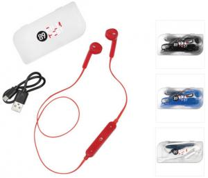 Music Control Bluetooth Earbuds with Case