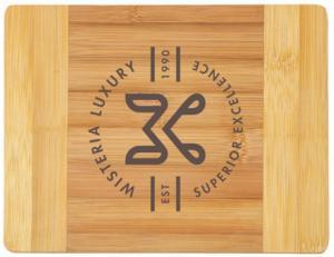 Rectangular Natural Bamboo Cutting Board