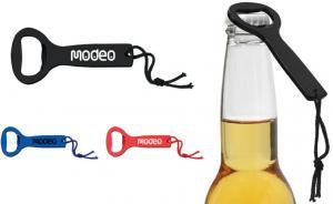 Metallic Bottle Opener w/ Loop