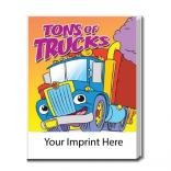 Tons of Trucks Coloring Book