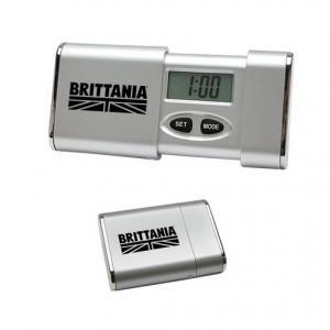 Sliding Digital Travel Alarm Clock