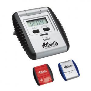 Flipper Digital Alarm Travel Clock