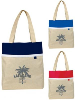 Polycanvas Lined Linen Tote