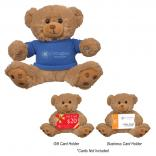 "6"" Hold-A-Card Plush Bear"