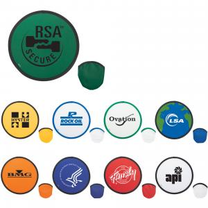 Pop-Up Nylon Frisbees
