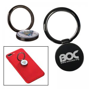 Full Color Epoxy Dome Metal Phone Ring Stand