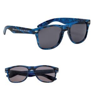 Water Camo Malibu Sunglasses