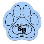 King Size Paw Compressed Sponge