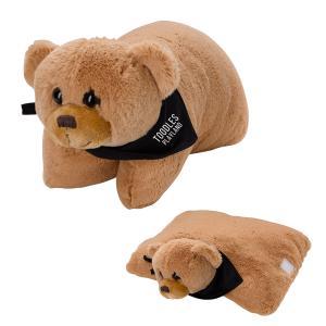 Soft Bear Plush Pillow
