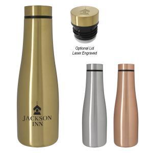 20 oz. Metallic Finish Stainless Steel Bottle