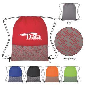 Bitmap Drawstring Backpack
