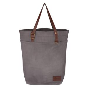 Waxed Canvas Utility Tote Bag