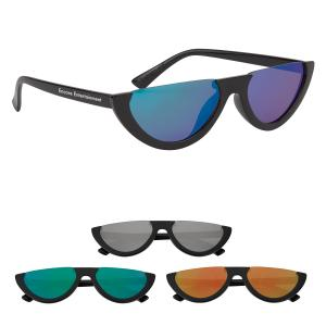 Vibrant Crescent Sunglasses