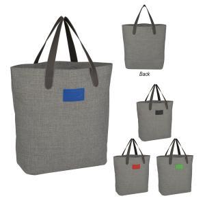Grey Heathered Tote Bag