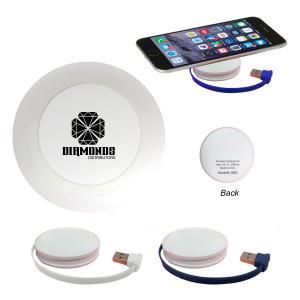 Wireless Round Charging Pad and USB HUB