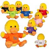 "7"" Plush Stuffed Duck with T-Shirt"
