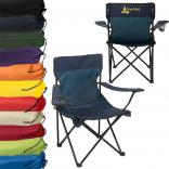 Polyester Folding Captain's Chair with Case