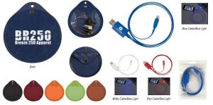 Round Light Up Charging Tech Kit