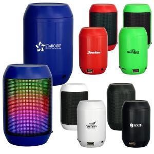 Light-Up Barrel Bluetooth Speaker