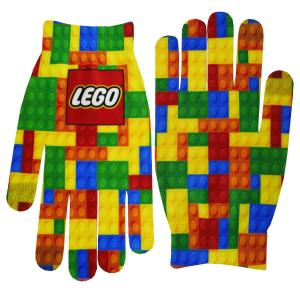 Full Color Text Gloves
