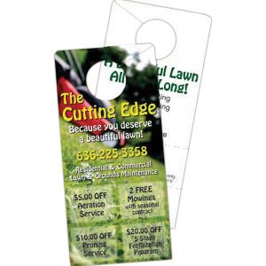 Laminated Coupon Door Hanger