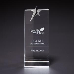 Optical Star Crystal Award