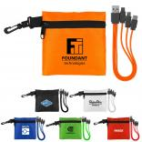 Type C USB Cable & Ripstop Pouch Set