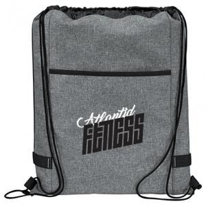 Graphite Drawstring Bag