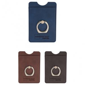 RFID Phone Wallet w/ Ring Holder