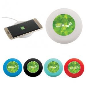 Wireless Charging Pad w/ Integrated Cable